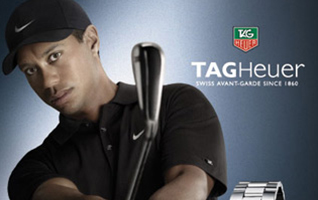 Tiger Woods Tag Heuer
